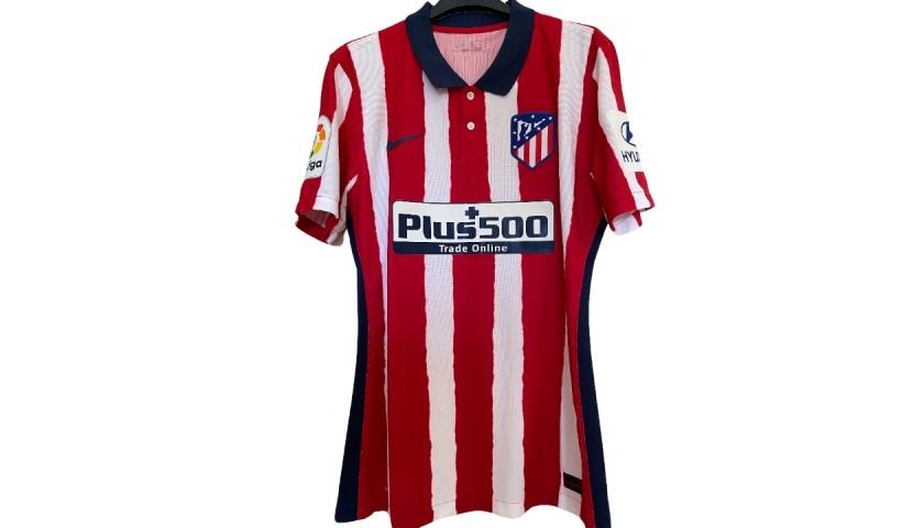 Llorente's Match Shirt Atletico Madrid, 2020/21 - CharityStars