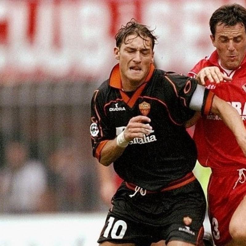 Totti's Roma Signed Match Shirt, 1999/00 Season