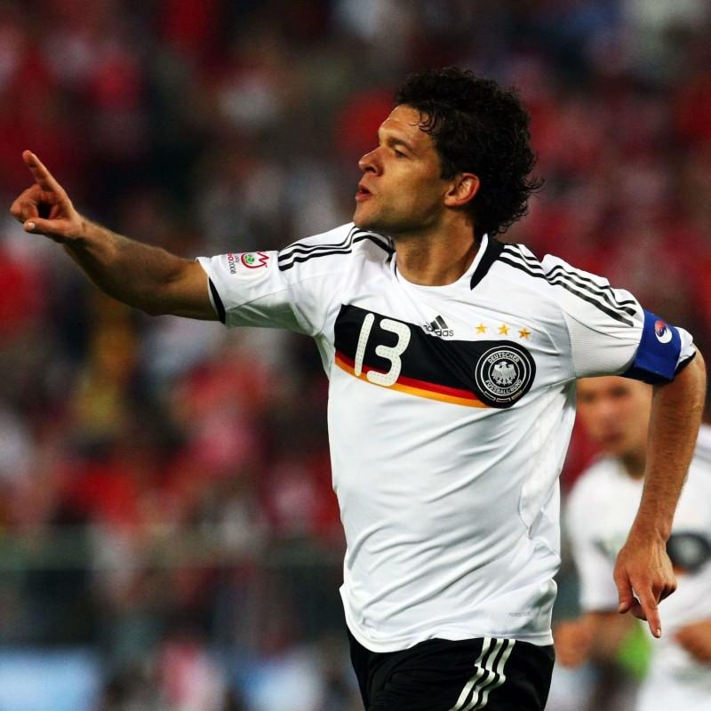 Ballack's Germany Match Shirt, Euro 2008