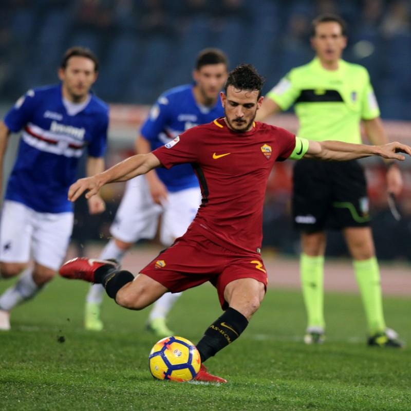 Florenzi's Match-Issued 2017/18 Roma Shorts