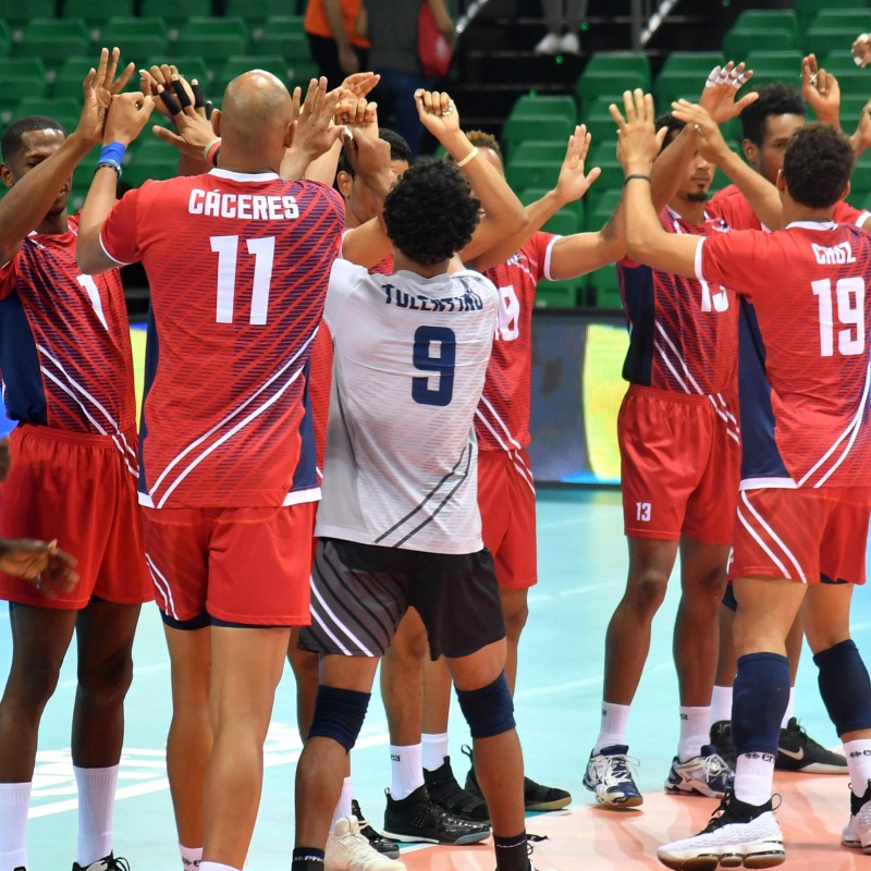 Official FIVB Volleyball Signed by the Dominican Republic National Volleyball Team