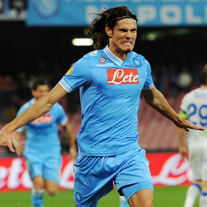 Cavani's Official Napoli Signed Shirt, 2012/13