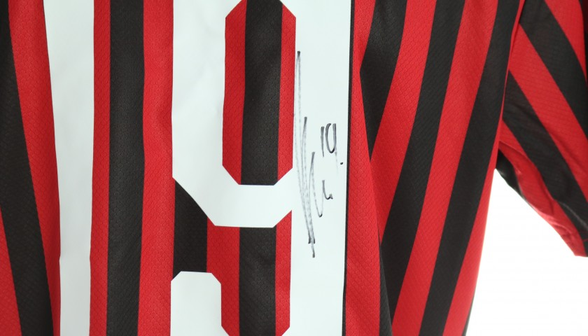 Theo's Official Milan Signed Shirt, Chinese New Year