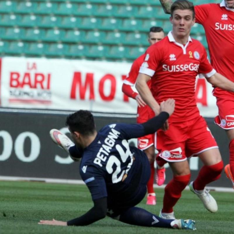 Petagna's Vicenza Match Shirt, 2014/15