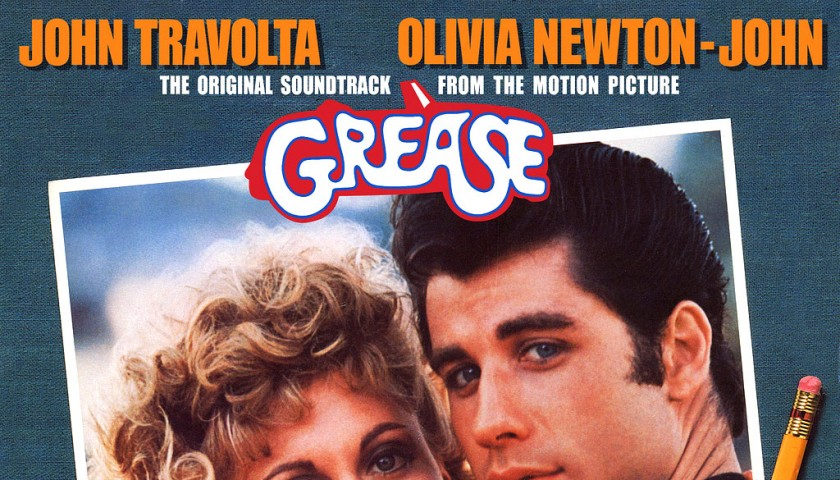 Signed Grease Soundtrack Album - John Travolta, Olivia