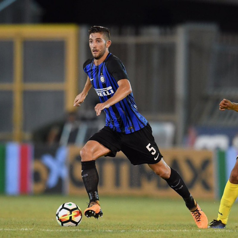Signed Official Gagliardini 2017/18 Inter Shirt
