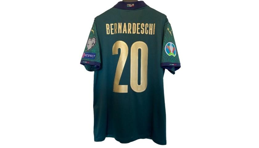 Bernardeschi's Match Shirt, Italy-Greece 2019