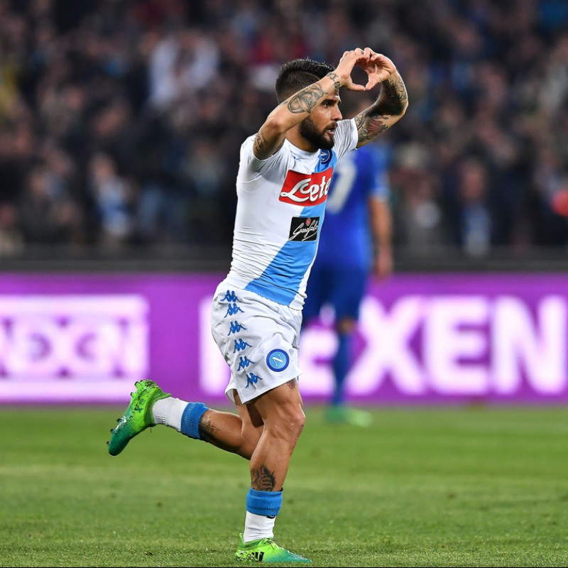 Insigne's Adidas Cleats, Issued 2016/17 - Signed