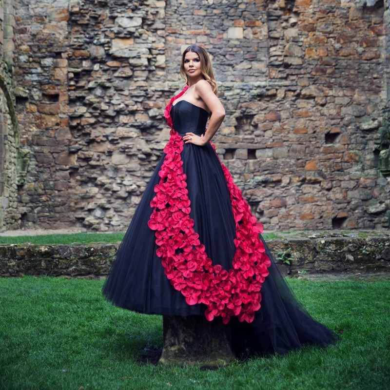 Remembrance Poppy Dress