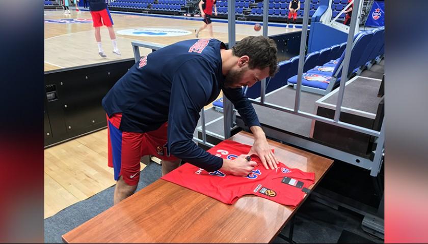 e5e0e99b3e6 Official CSKA Moscow Jersey Signed by Rodriguez, Turkish Airlines  EuroLeague - CharityStars