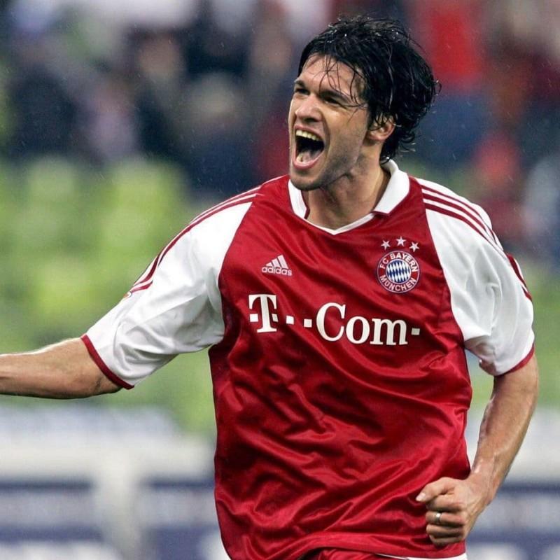Ballack's Official Bayern Munich Signed Shirt, 2003/04