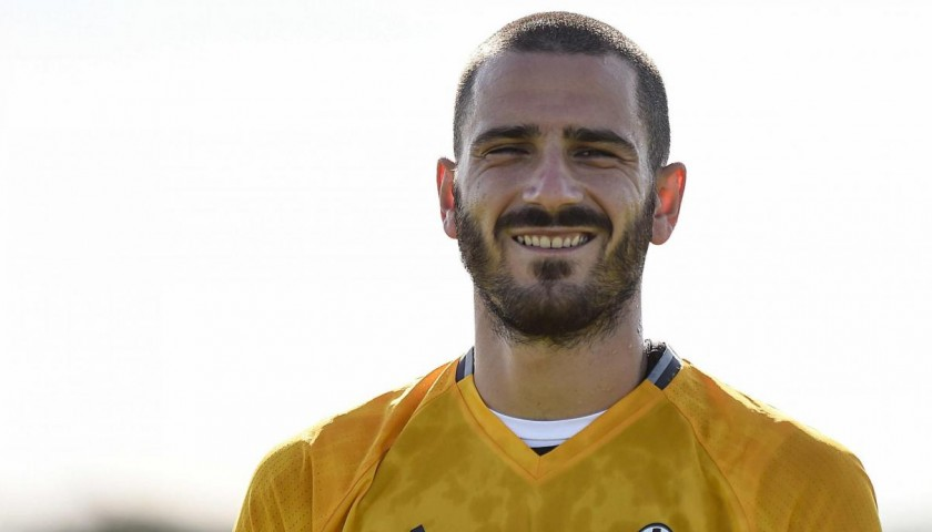 Meet Leonardo Bonucci at the Juventus Center, Vinovo