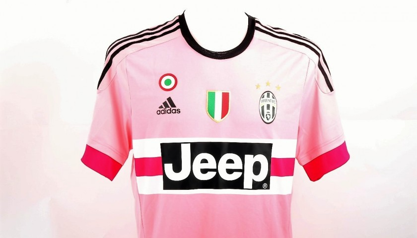 Chiellini Match-Issued/Worn Shirt, 2015/16 - Signed