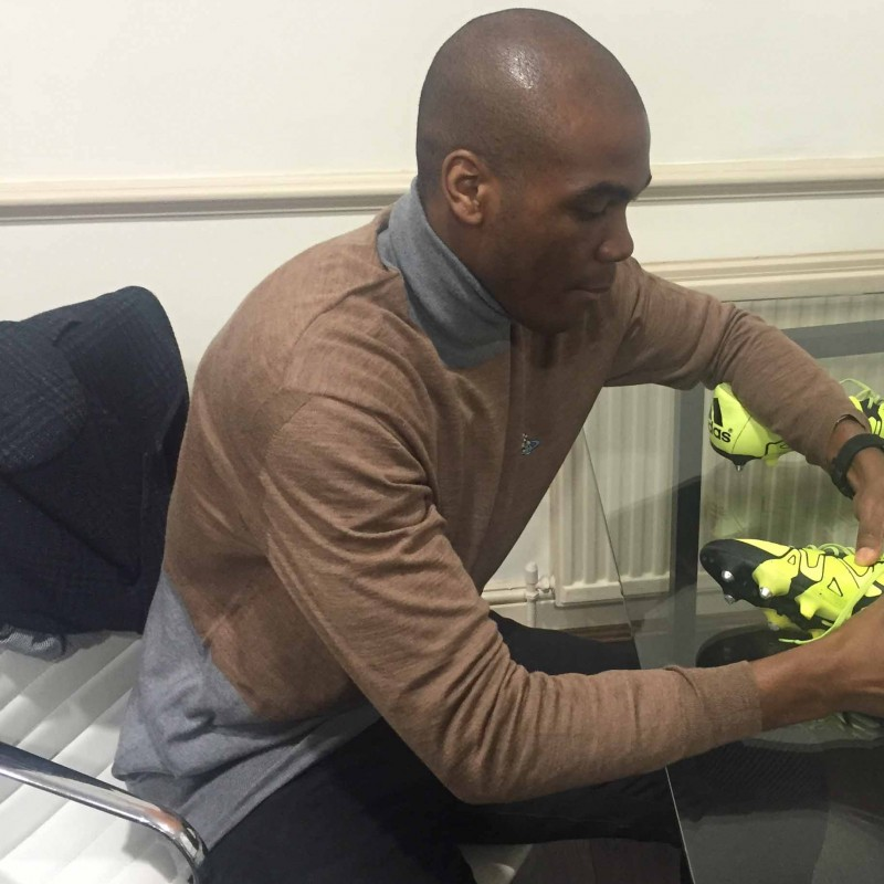 Angelo Ogbonna's Match Worn Football Boots, 2015/16 FA Cup vs Liverpool - signed