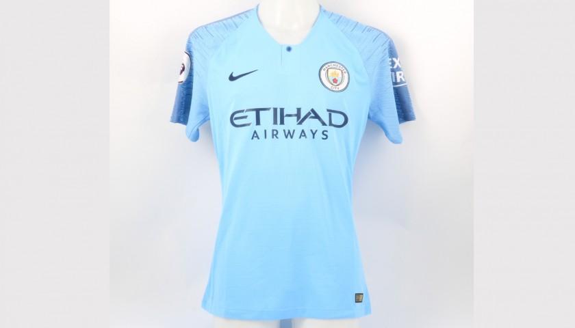 new style 9fc8c a32d4 Otamendi's Manchester City Kit, Premier League 2018/19 - CharityStars
