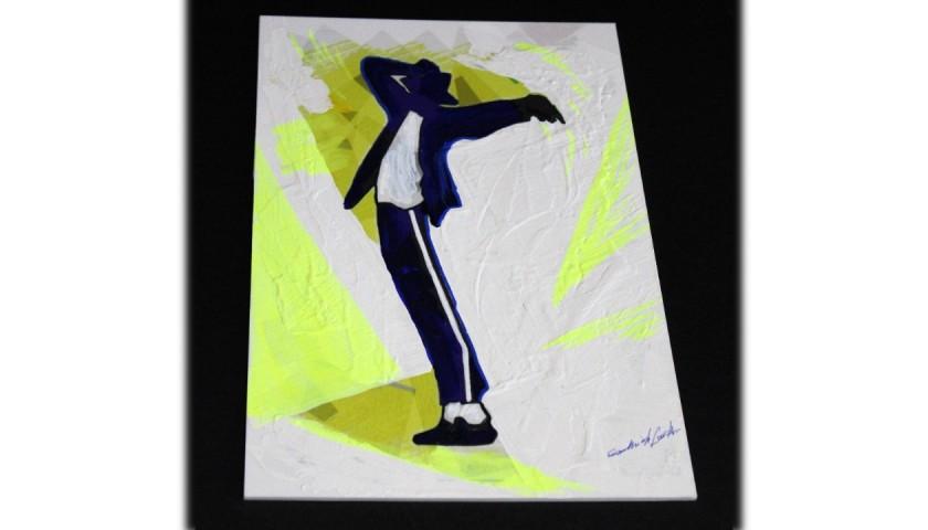 Michael Jackson - Unique Artwork by Gabriele Salvatore