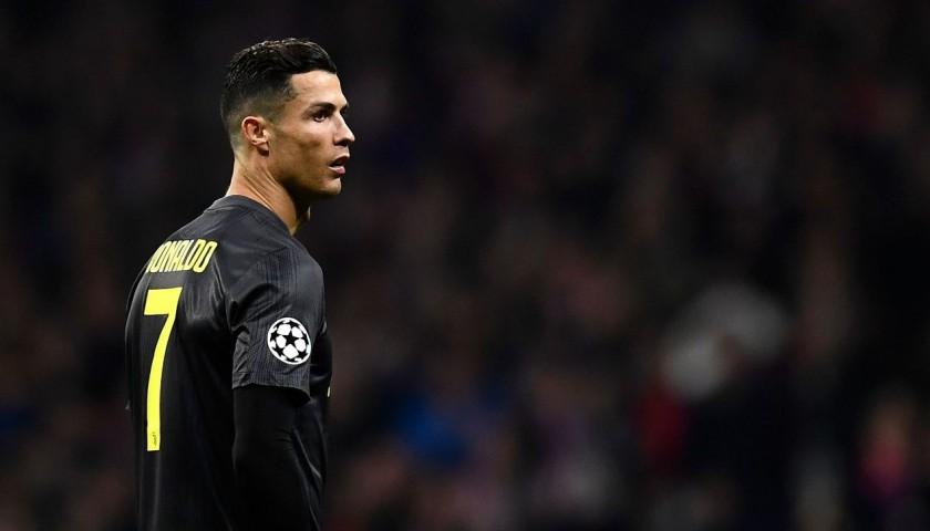 Ronaldo's Authentic Juventus 2018/19 Signed Shirt