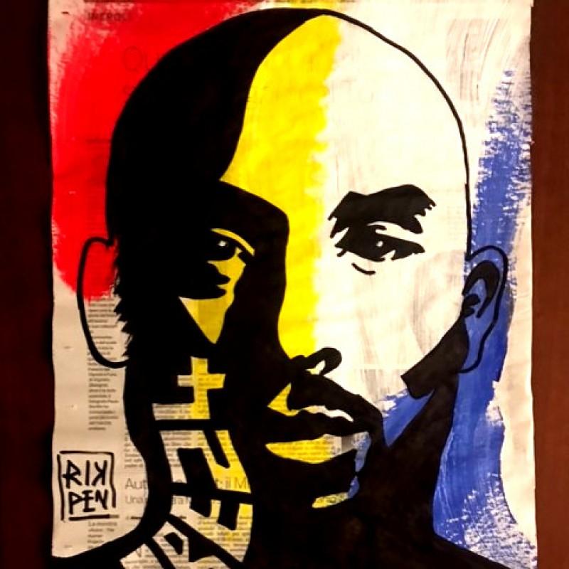 """Kobe24"" Original Board by RikPen - Riccardo Penati"