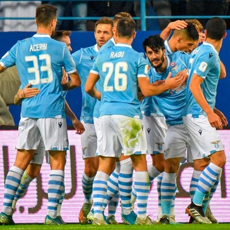 Berisha's Lazio Match Shirt, Italian Super Cup 2019/20
