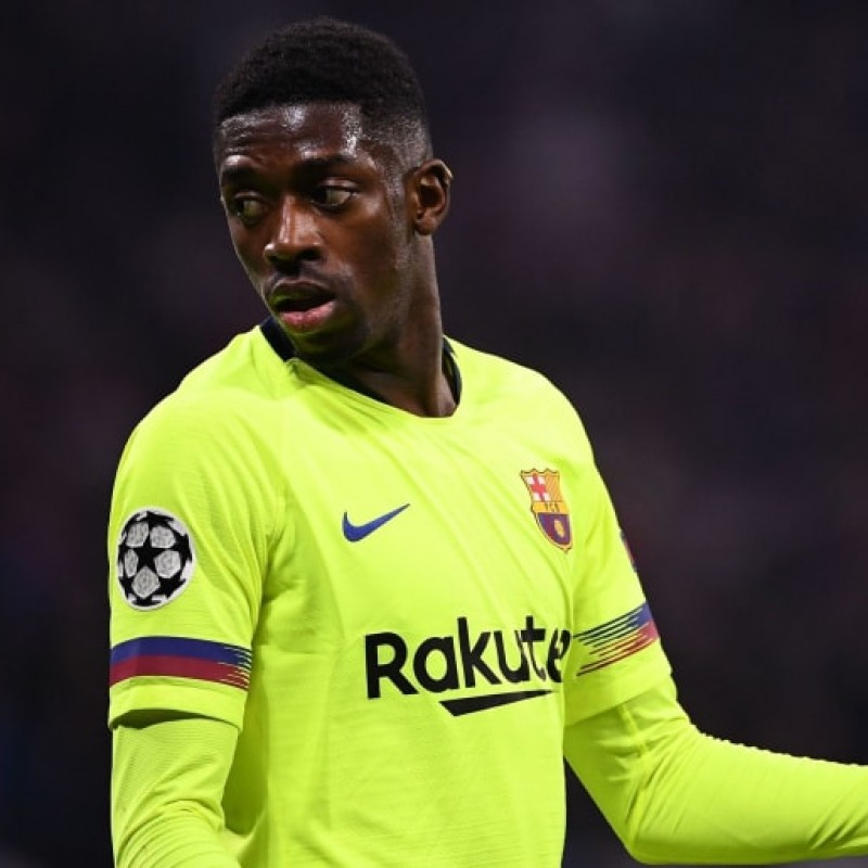 Dembele's Match-Issued Barcelona Shirt, UCL 2019/20