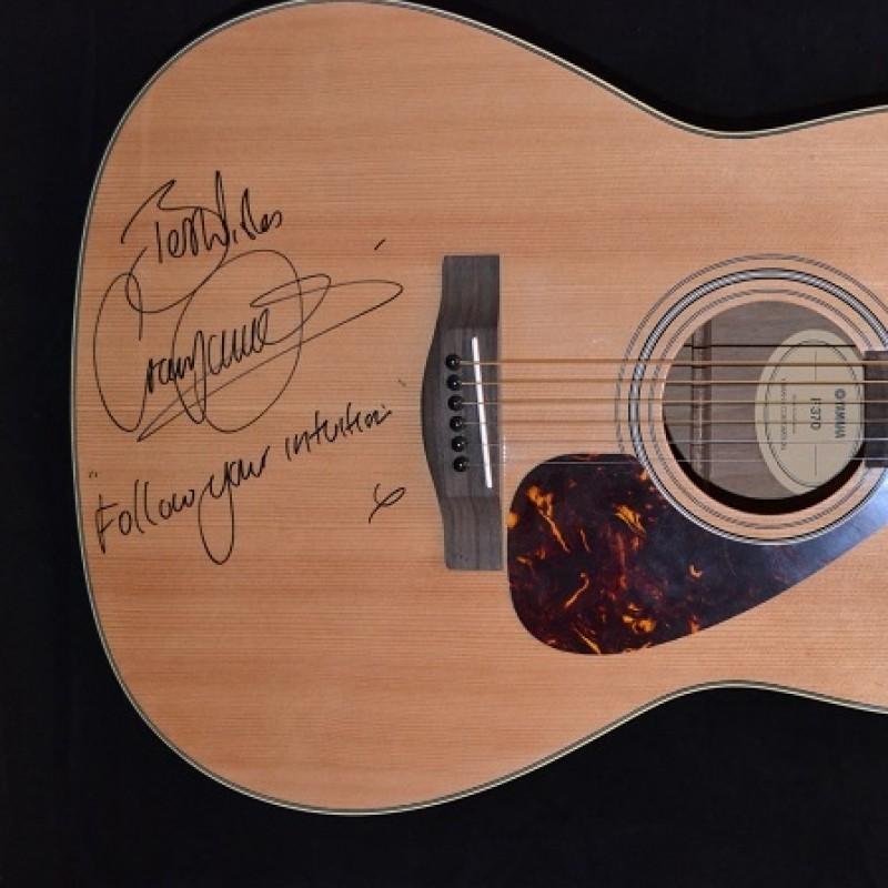 Craig David Yamaha F370 Acoustic Guitar Signed by Craig David