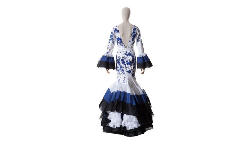 Flamenco Costume Designed by Juana Martin