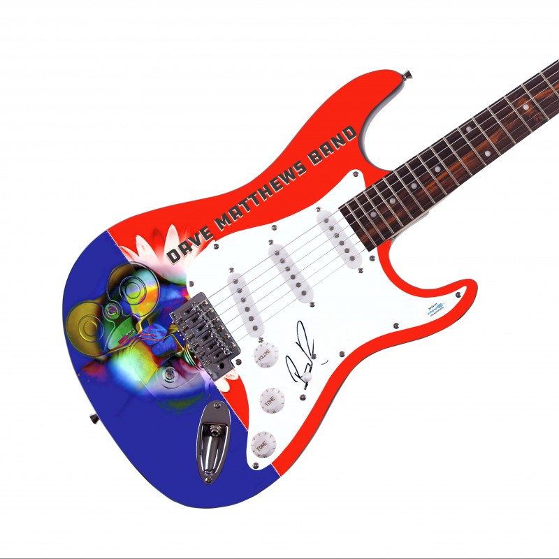Boyd Tinsley (The Dave Matthews Band) Signed Guitar