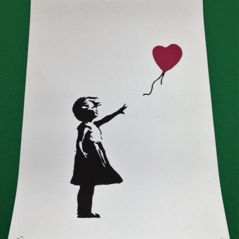 """Balloon Girl"" - Original Offset Lithograph by Banksy"