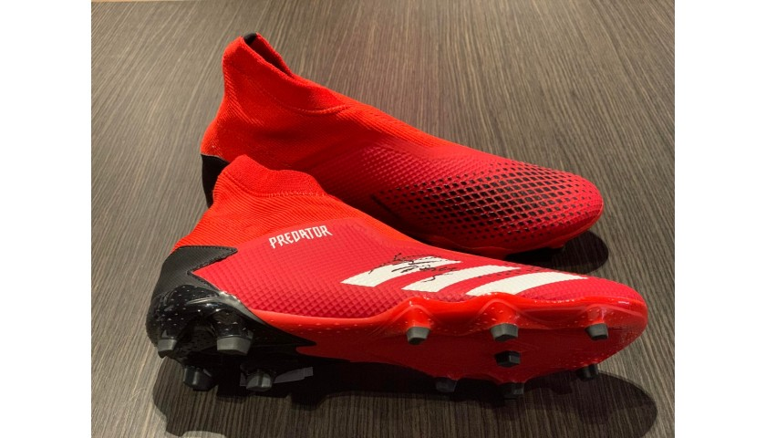 Adidas Predator Boots - Signed by Pjanic