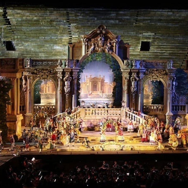 A Wonderful Three-Night Escape to Verona Opera for Two