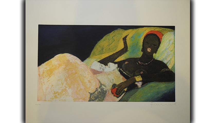 """Odalisque"" by Salvatore Fiume"