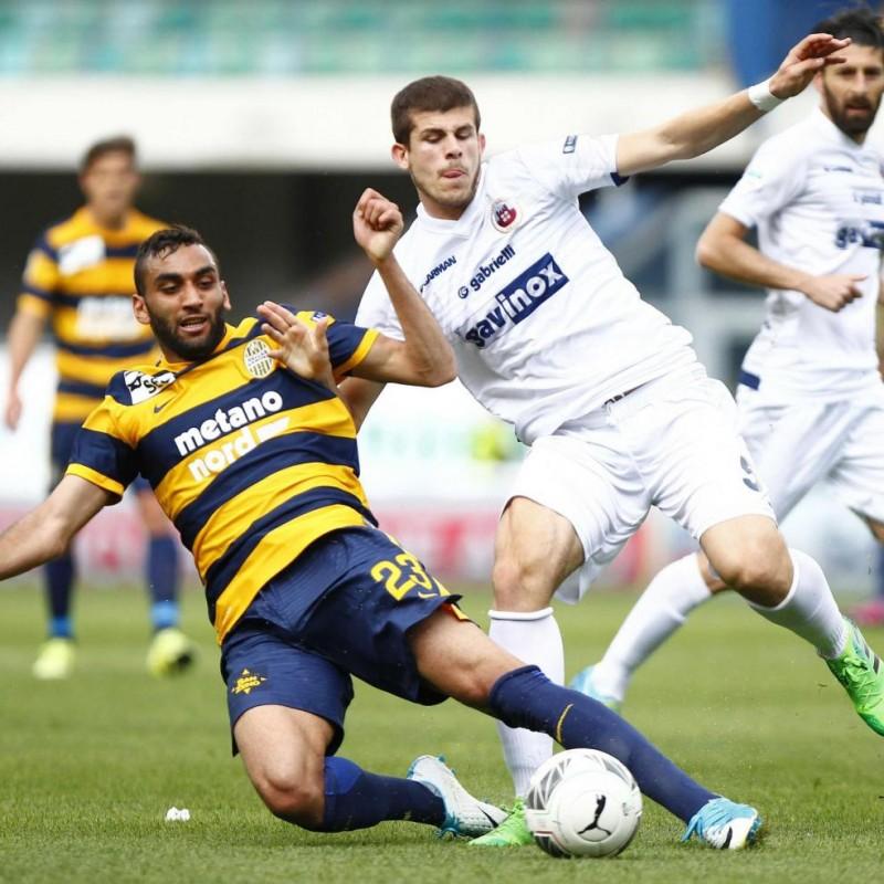 Fares' Match-Worn 2016/17 Serie B Shirt, Verona-Perugia