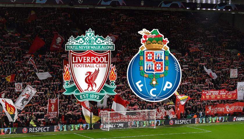 Pertandingan Liga Champions antara Liverpool vs FC Porto