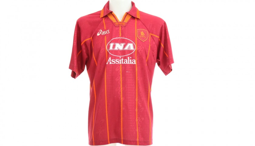 Totti's Official Roma Signed Shirt, 1996/97