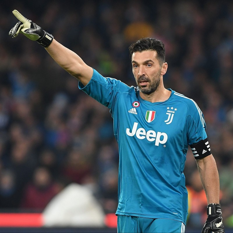 Signed Official Buffon Juventus Shirt, 2017/18