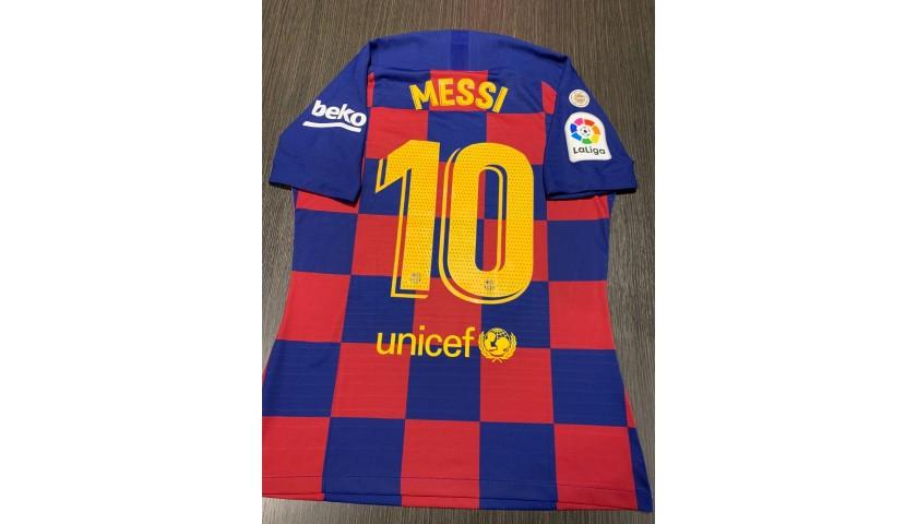 Messi's Match Shirt, Barcelona-Mallorca 2019/20