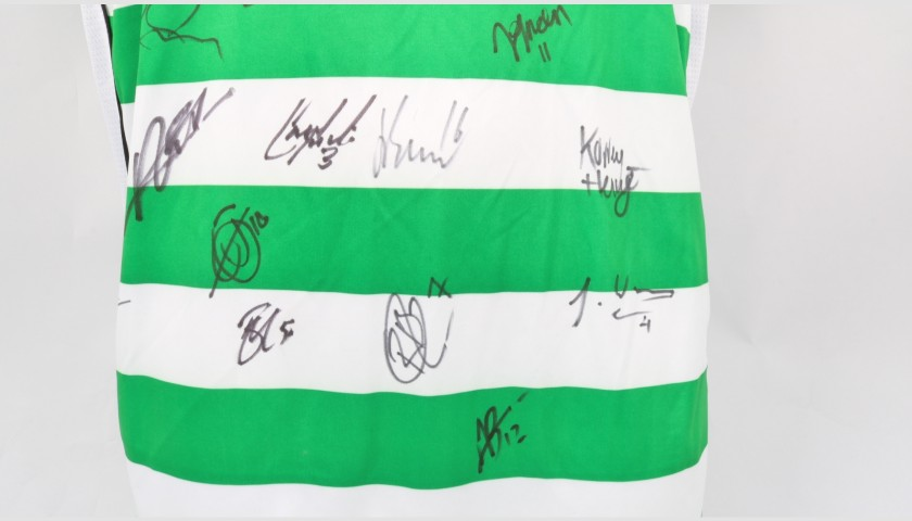 Yeovil Town Official Poppy Shirt Signed by the Team