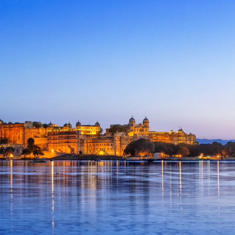 Three-Night Luxury Stay at the Fateh Prakash Palace in Udaipur, India