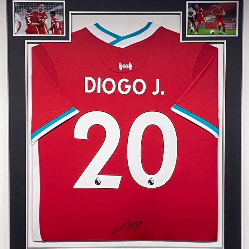 Liverpool Shirt Signed by Diogo Jota