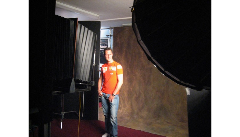 Michael Schumacher Polaroids Signed Limited Edition