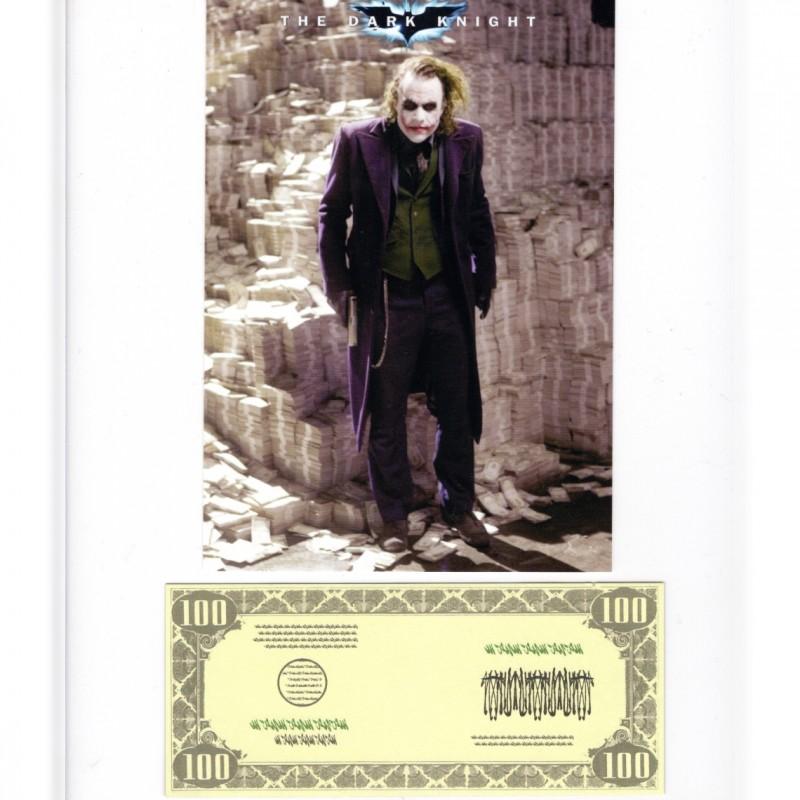 "Original Prop Banknote Used in ""The Dark Knight"""