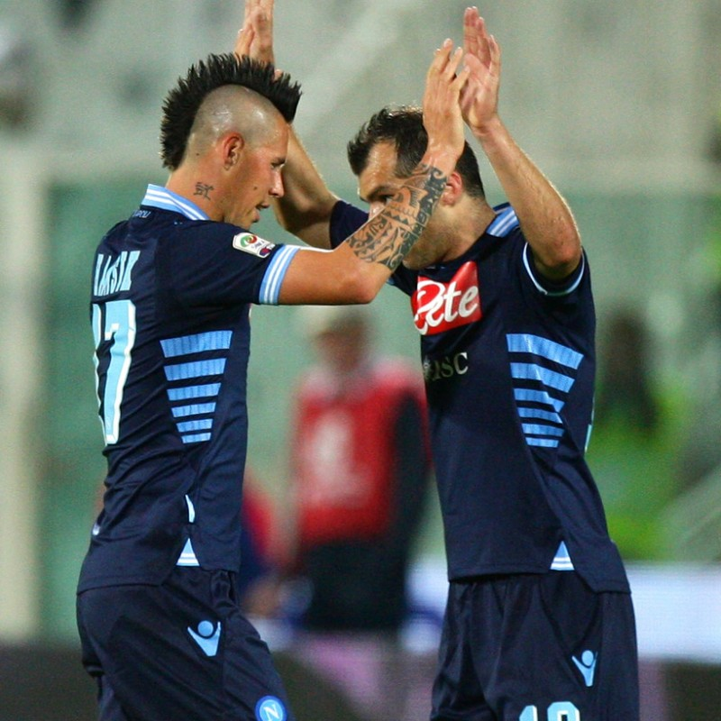 Pandev's Match Shirt, Lazio-Napoli 2013