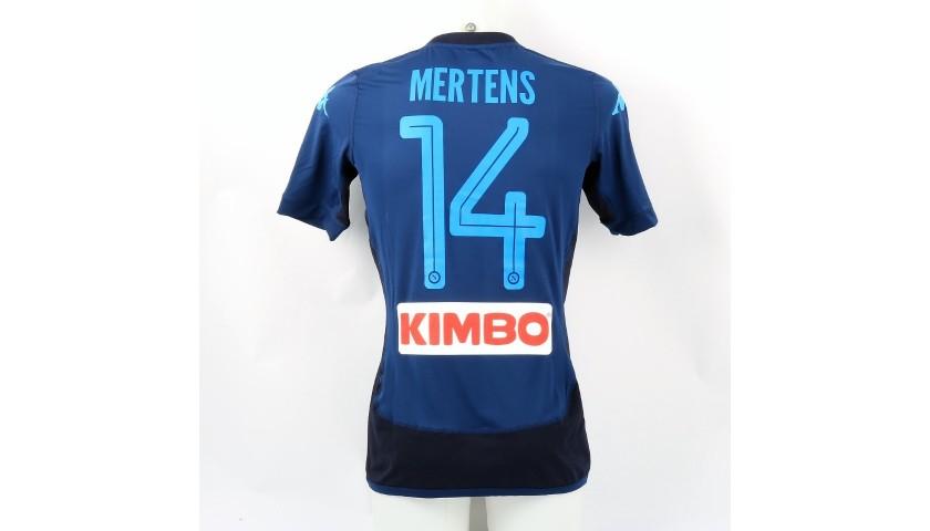 Mertens' Match Shirt, Lazio-Napoli 2017