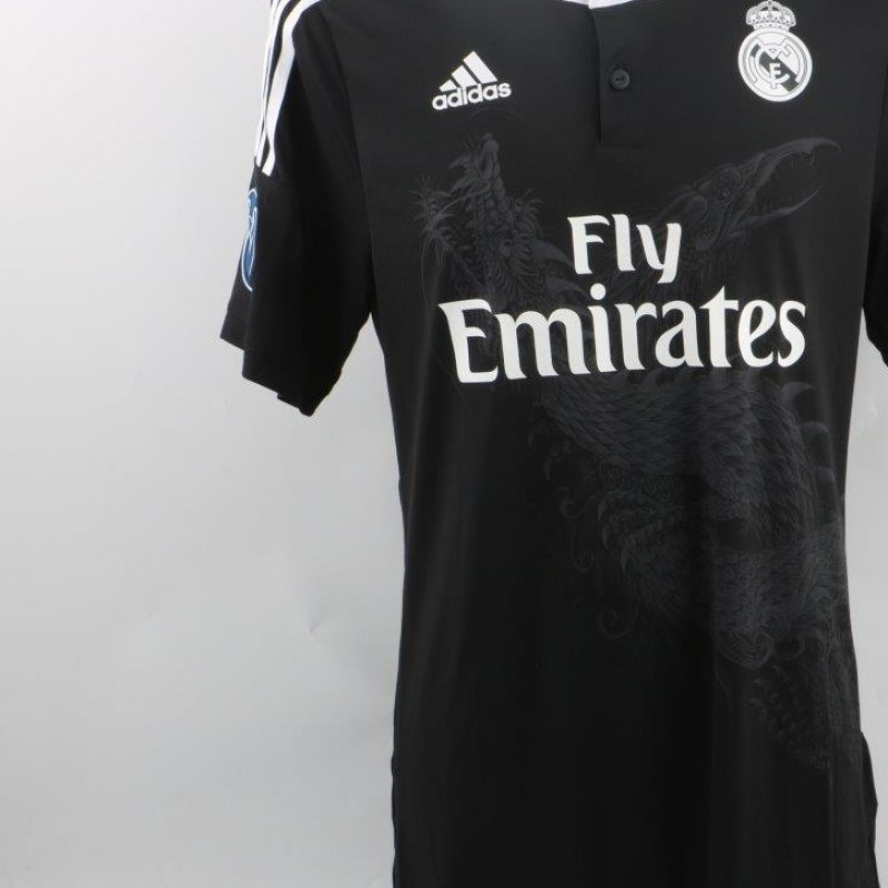 Real Madrid Benzema away shirt, issued C.League 14/15