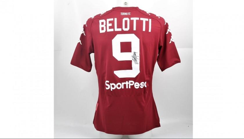 Signed Official Belotti Torino Shirt, 2017/18