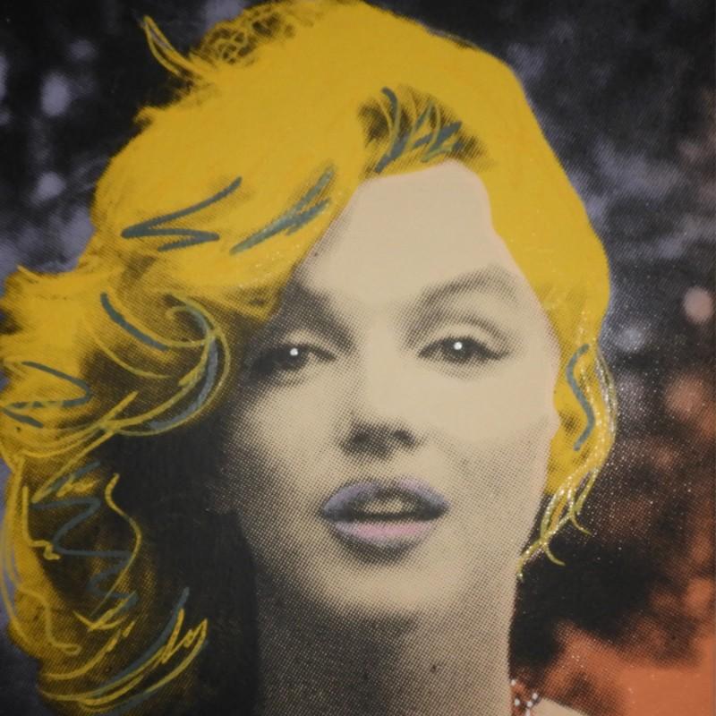 """Marilyn Monroe - Yellow"" by Steve Kaufman"
