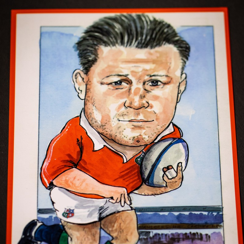 Dai Young Caricature