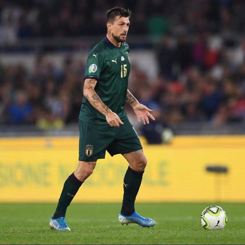 Acerbi's Match Shirt, Italy-Greece 2019