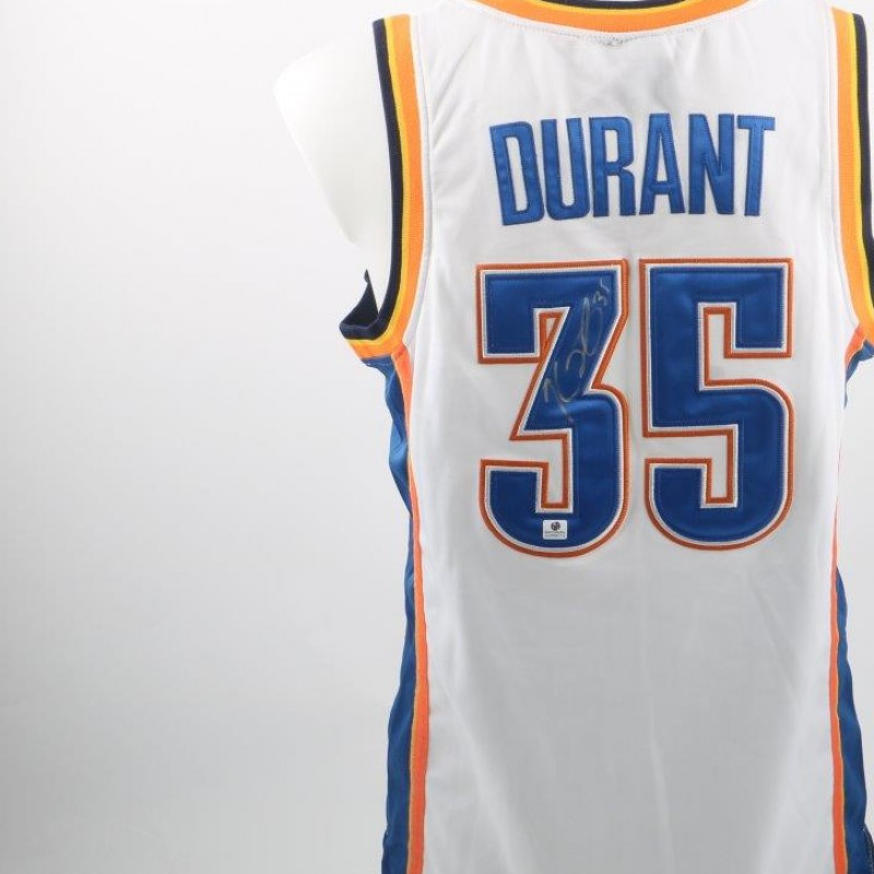 Official Durant Oklahoma City Thunders shirt - signed