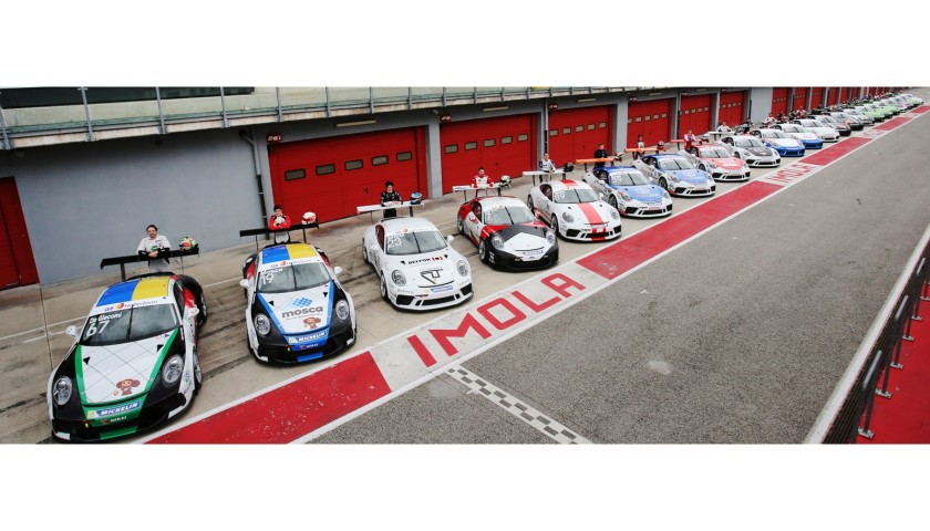 Scendi in pista con Q8 e partecipa al Porsche Carrera Cup Italia